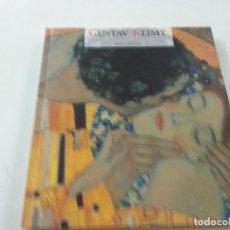 Libros de segunda mano: GUSTAF KLIMT-ELECTA QUADRIFOLIO-26 X 28 CENTIMETROS-CCC.. Lote 117200587