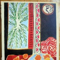Libros de segunda mano: ENRIC MATISSE. 1980. FUNDACION JUAN MARCH. OLEOS, DIBUJOS...GRAN FORMATO. Lote 117272743