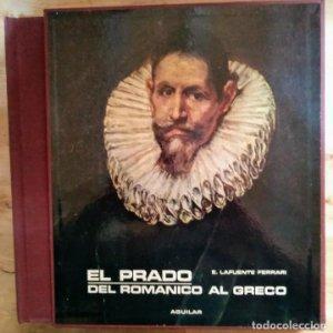 LIBROFILM EL PRADO DEL ROMÁNICO AL GRECO 100 diapositivas + libro - E.LAFUENTE FERRARI - AGUILAR