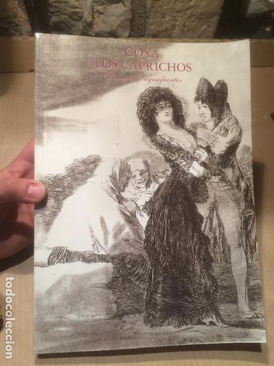 ANTIGUO LIBRO GOYA - LOS CAPRICHOS - DIBUJOS Y AGUAFUERTES AÑO 1994 (Libros de Segunda Mano - Bellas artes, ocio y coleccionismo - Pintura)