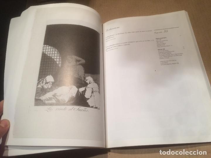 Libros de segunda mano: Antiguo libro GOYA - LOS CAPRICHOS - DIBUJOS Y AGUAFUERTES año 1994 - Foto 2 - 117527963