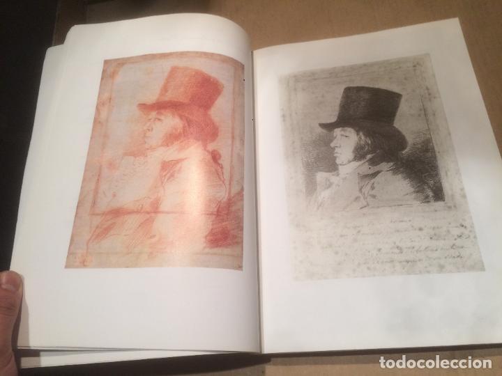 Libros de segunda mano: Antiguo libro GOYA - LOS CAPRICHOS - DIBUJOS Y AGUAFUERTES año 1994 - Foto 3 - 117527963