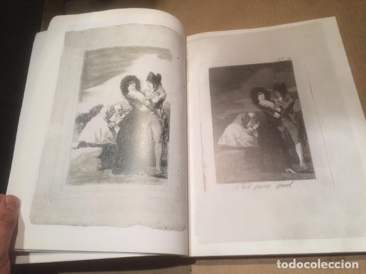 Libros de segunda mano: Antiguo libro GOYA - LOS CAPRICHOS - DIBUJOS Y AGUAFUERTES año 1994 - Foto 4 - 117527963