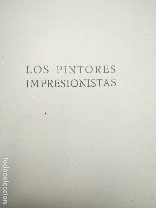 Libros de segunda mano: LOS PINTORES IMPRESIONISTAS - DR. BELÁ LAZAR - COLECCIÓN LABOR - BARCELONA - 1942 - - Foto 2 - 118979743