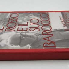 Libros de segunda mano: IL ROSSO E'IL SUO BAROCCO, ALIGI SASSU, 1983, DIBUJO Y DEDICATORIA DEL PINTOR, MILAN. 26X35,5CM. Lote 118992903