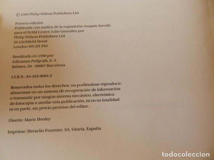 Libros de segunda mano: JOAQUIN SOROLLA , EDMUND PEEL , EDITORIAL: POLIGRAFA BARCELONA 1990 LIBRO PINTURA - Foto 6 - 119442723
