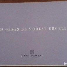 Libros de segunda mano: 29 OBRES DE MODEST URGELL. MANEL MAYORAL. Lote 119514303