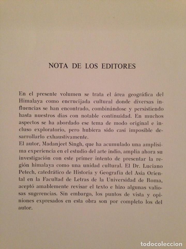 Libros de segunda mano: LOS TESOROS DEL HIMALAYA - LIBRO DE MADANJEET SINGHI - DESTINO 1968 (PINTURA MURAL Y ESCULTURA) - Foto 4 - 172108289