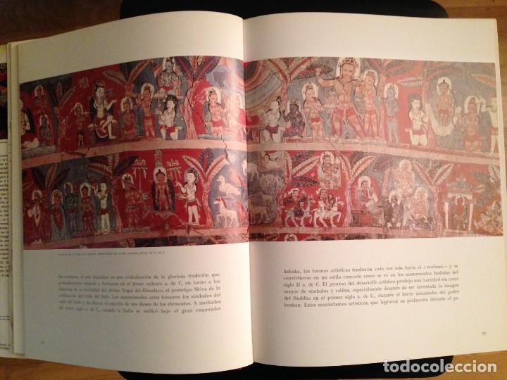 Libros de segunda mano: LOS TESOROS DEL HIMALAYA - LIBRO DE MADANJEET SINGHI - DESTINO 1968 (PINTURA MURAL Y ESCULTURA) - Foto 6 - 172108289