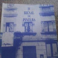 Libros de segunda mano: IV BIENAL DE PINTURA -- BALCONADAS -- BETANZOS JULIO-AGOSTO 1994 --. Lote 120280651
