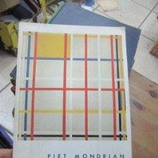 Libros de segunda mano: LIBRO PIET MONDRIAN 1980 FUND. JUAN MARCH ART-717. Lote 120430295
