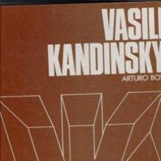 Libros de segunda mano: VASILI KANDINSKY, ARTURO BOVI. Lote 120592276