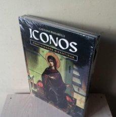 Libros de segunda mano: GAETANO PASSARELLI - ICONOS, FESTIVIDADES BIZANTINAS - SIN ABRIR - CLUB INTERNACIONAL DEL LIBRO. Lote 120682883