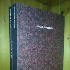 Libros de segunda mano: FRANS MASEREEL, LA ESTAMPA CONTEMPORANEA EN FLANDES, CAJASTUR, 2000. Lote 120977443