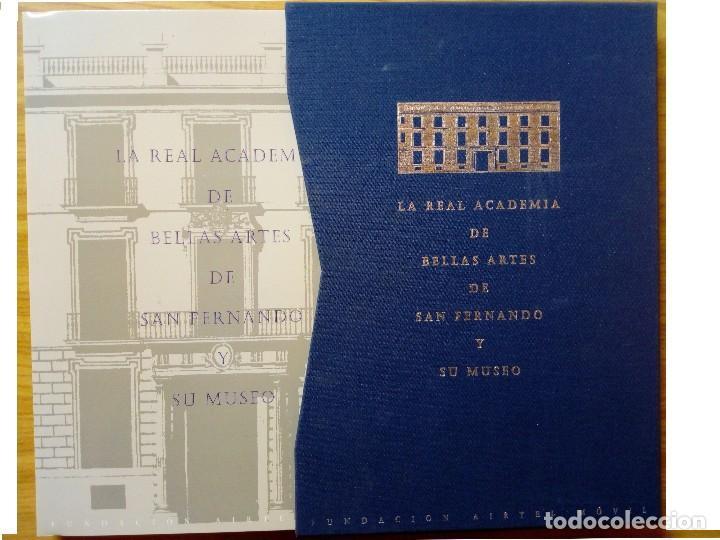 Libros de segunda mano: LA REAL ACADEMIA DE BELLAS ARTES DE SAN FERNANDO Y MUSEO - Foto 2 - 121024947