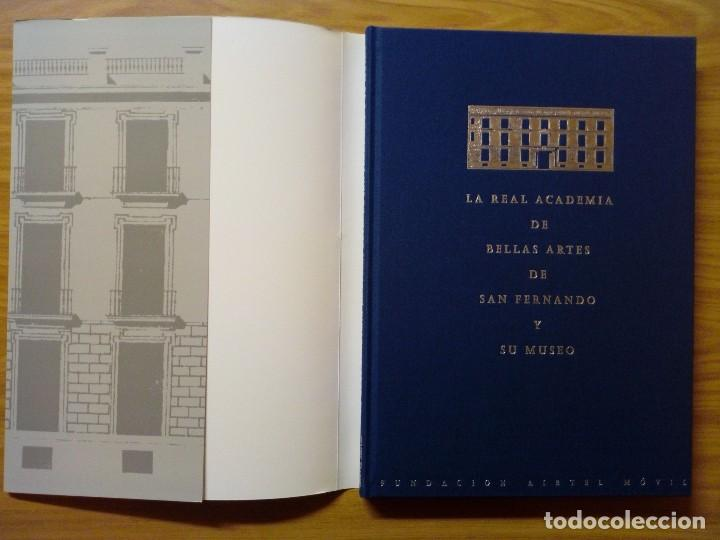 Libros de segunda mano: LA REAL ACADEMIA DE BELLAS ARTES DE SAN FERNANDO Y MUSEO - Foto 7 - 121024947