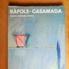 Libros de segunda mano: RÀFOLS-CASAMADA. VICTORIA COMBALÍA DEXEUS.. Lote 121536363