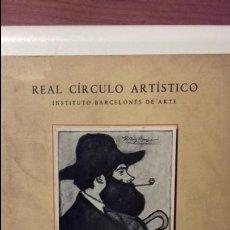Libros de segunda mano: EXPOSICION HOMENAJE H. ANGLADA CAMARASA. CATALOGO DE LA EXPOSICIÓN. Lote 121645407