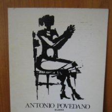 Libros de segunda mano: 1? CATALOGO ANTONIO POVEDANO. ÓLEO. ALMERÍA 1981. Lote 121655163