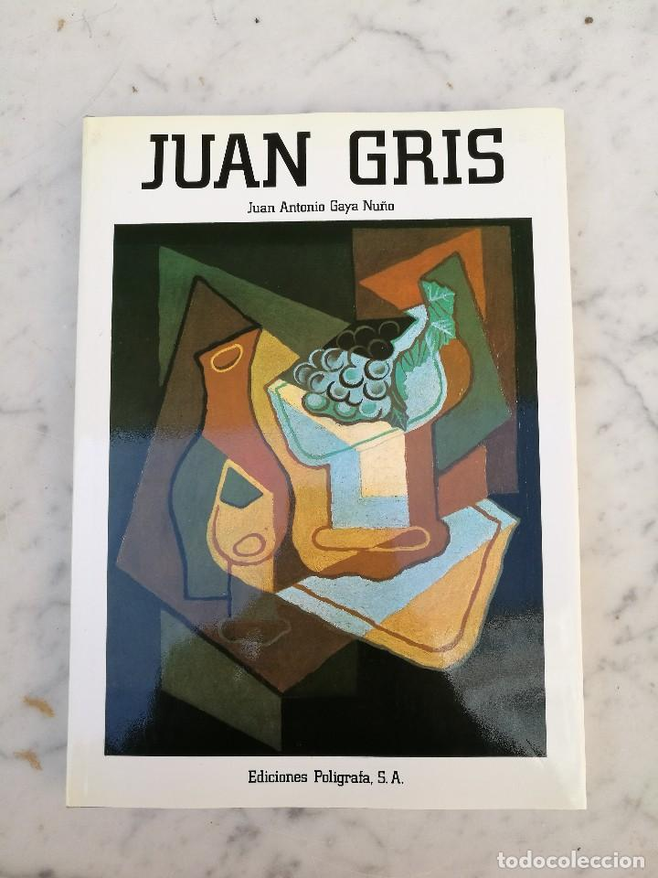 JUAN GRIS EDICIONES POLÍGRAFA 1985 (Libros de Segunda Mano - Bellas artes, ocio y coleccionismo - Pintura)