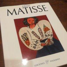 Libros de segunda mano: HENRI MATISSE- EDICIONES POLÍGRAFA, 1994.. Lote 122624096
