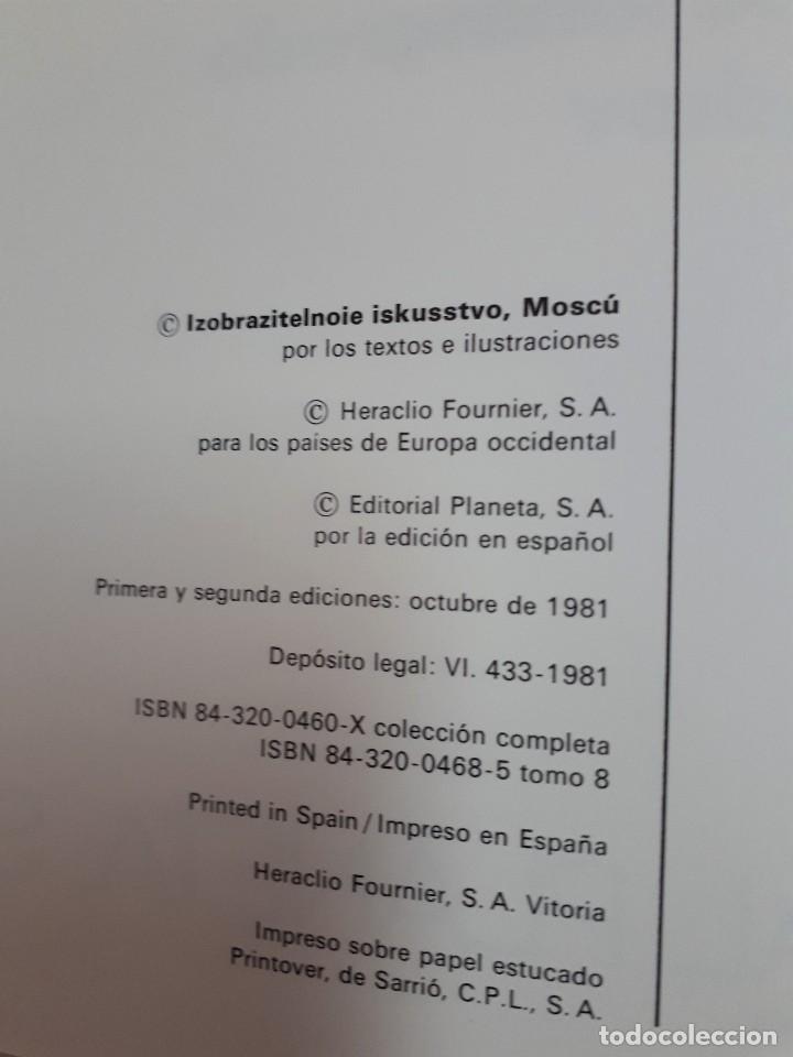 Libros de segunda mano: LA PINTURA EN LOS GRANDES MUSEOS. ESPECTACULAR OBRA EN 8 TOMOS DE EDITORIAL PLANETA. - Foto 4 - 122887095