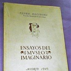 Libros de segunda mano: ENSAYOS DEL MUSEO IMAGINARIO.. Lote 123037379