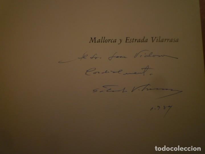 Libros de segunda mano: ESTRADA VILARRASSA. MALLORCA. EDITORIASL AUSA. 1983 - Foto 3 - 123102663