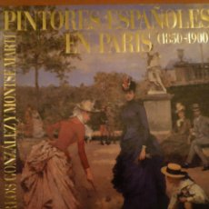 Libros de segunda mano: PINTURA ESPAÑOLA EN PARIS. 1850-1900. TUSQUETS EDITORES. 1989. Lote 123104563