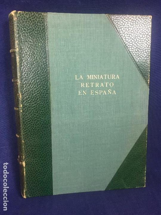 Libros de segunda mano: la miniatura retrato en españa mariano tomás láminas greco dumont de la cruz 1953 - Foto 4 - 123320527