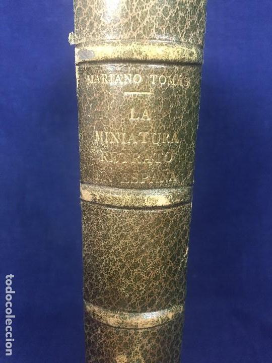 Libros de segunda mano: la miniatura retrato en españa mariano tomás láminas greco dumont de la cruz 1953 - Foto 6 - 123320527