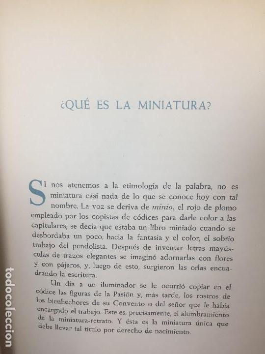 Libros de segunda mano: la miniatura retrato en españa mariano tomás láminas greco dumont de la cruz 1953 - Foto 21 - 123320527