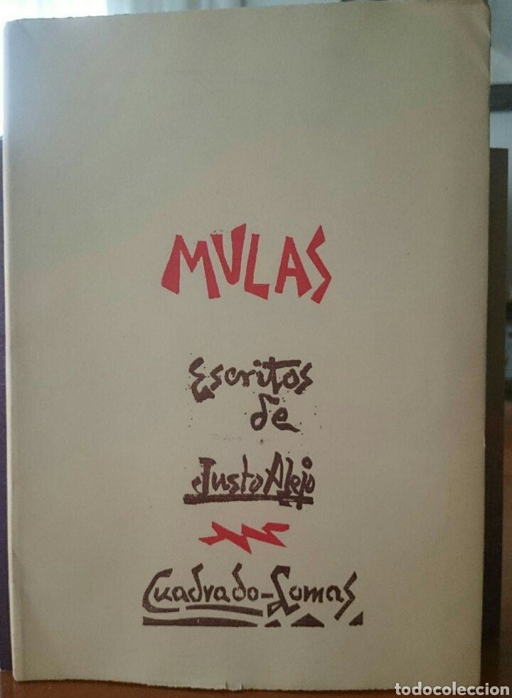 81b70736f08d Mulas, excepcional libro, Valladolid, cuadrado lomas, inencontrable, joya!!
