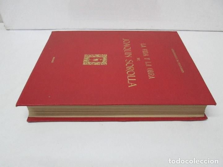 Libros de segunda mano: LA VIDA Y OBRA DE JOAQUIN SOROLLA. BERNARDINO DE PANTORBA. EDITORIAL MAYFE 1953. EJEMPLAR Nº 1828. - Foto 4 - 124099523