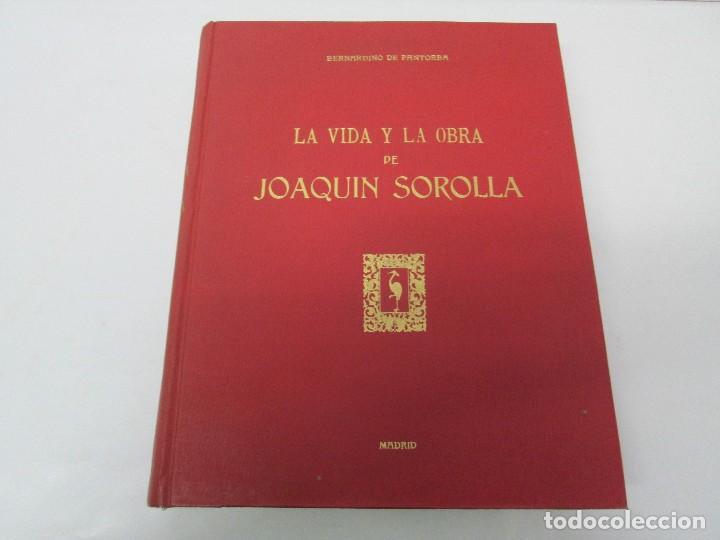 Libros de segunda mano: LA VIDA Y OBRA DE JOAQUIN SOROLLA. BERNARDINO DE PANTORBA. EDITORIAL MAYFE 1953. EJEMPLAR Nº 1828. - Foto 6 - 124099523