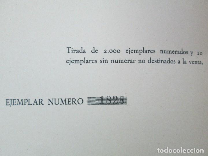 Libros de segunda mano: LA VIDA Y OBRA DE JOAQUIN SOROLLA. BERNARDINO DE PANTORBA. EDITORIAL MAYFE 1953. EJEMPLAR Nº 1828. - Foto 8 - 124099523