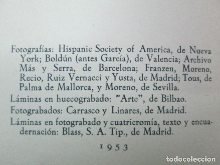 Libros de segunda mano: LA VIDA Y OBRA DE JOAQUIN SOROLLA. BERNARDINO DE PANTORBA. EDITORIAL MAYFE 1953. EJEMPLAR Nº 1828. - Foto 9 - 124099523