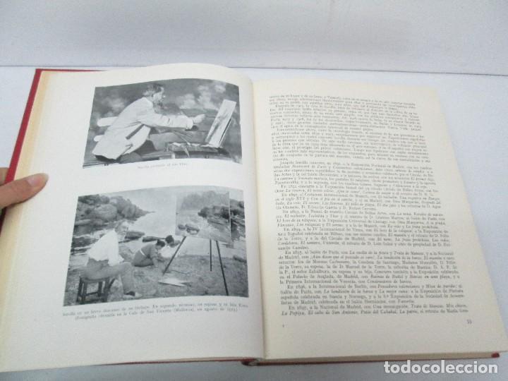 Libros de segunda mano: LA VIDA Y OBRA DE JOAQUIN SOROLLA. BERNARDINO DE PANTORBA. EDITORIAL MAYFE 1953. EJEMPLAR Nº 1828. - Foto 10 - 124099523