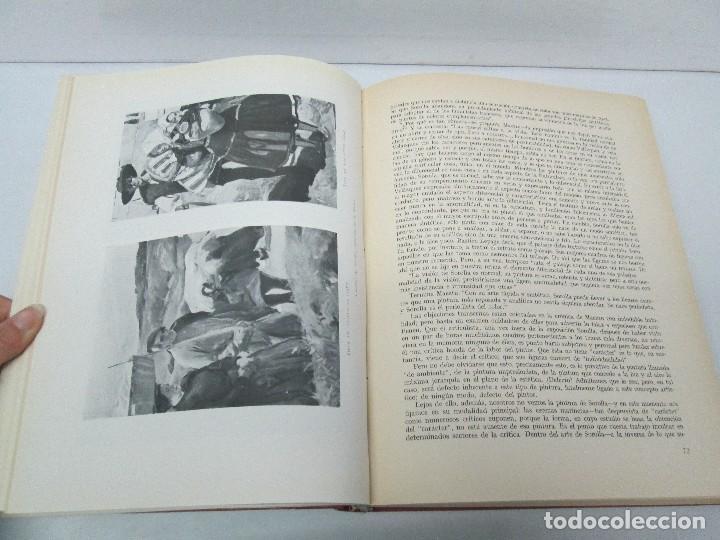 Libros de segunda mano: LA VIDA Y OBRA DE JOAQUIN SOROLLA. BERNARDINO DE PANTORBA. EDITORIAL MAYFE 1953. EJEMPLAR Nº 1828. - Foto 12 - 124099523