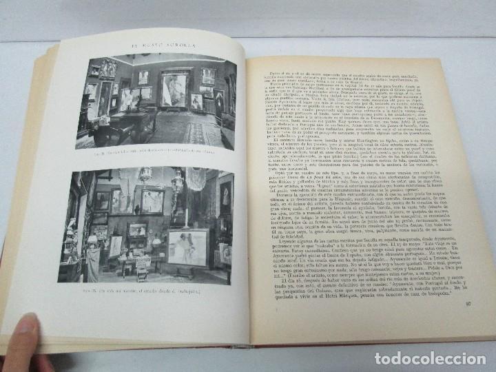 Libros de segunda mano: LA VIDA Y OBRA DE JOAQUIN SOROLLA. BERNARDINO DE PANTORBA. EDITORIAL MAYFE 1953. EJEMPLAR Nº 1828. - Foto 13 - 124099523