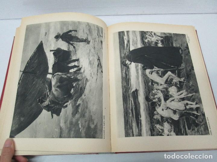Libros de segunda mano: LA VIDA Y OBRA DE JOAQUIN SOROLLA. BERNARDINO DE PANTORBA. EDITORIAL MAYFE 1953. EJEMPLAR Nº 1828. - Foto 15 - 124099523