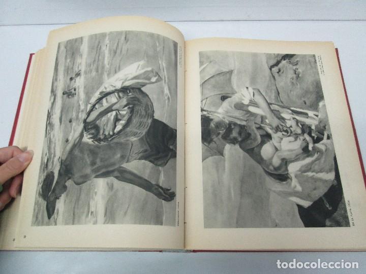 Libros de segunda mano: LA VIDA Y OBRA DE JOAQUIN SOROLLA. BERNARDINO DE PANTORBA. EDITORIAL MAYFE 1953. EJEMPLAR Nº 1828. - Foto 16 - 124099523