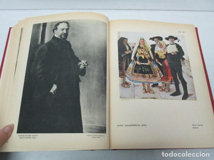 Libros de segunda mano: LA VIDA Y OBRA DE JOAQUIN SOROLLA. BERNARDINO DE PANTORBA. EDITORIAL MAYFE 1953. EJEMPLAR Nº 1828. - Foto 17 - 124099523