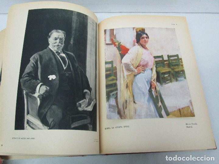 Libros de segunda mano: LA VIDA Y OBRA DE JOAQUIN SOROLLA. BERNARDINO DE PANTORBA. EDITORIAL MAYFE 1953. EJEMPLAR Nº 1828. - Foto 18 - 124099523
