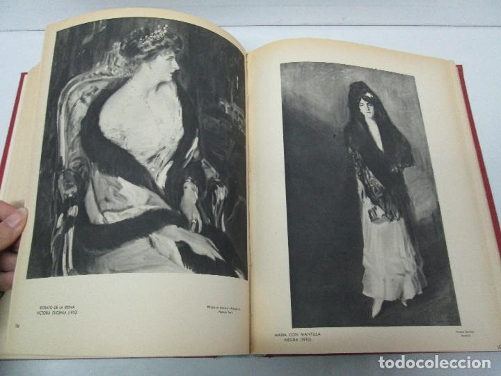 Libros de segunda mano: LA VIDA Y OBRA DE JOAQUIN SOROLLA. BERNARDINO DE PANTORBA. EDITORIAL MAYFE 1953. EJEMPLAR Nº 1828. - Foto 19 - 124099523