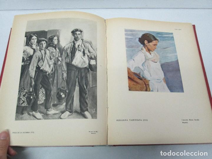Libros de segunda mano: LA VIDA Y OBRA DE JOAQUIN SOROLLA. BERNARDINO DE PANTORBA. EDITORIAL MAYFE 1953. EJEMPLAR Nº 1828. - Foto 20 - 124099523