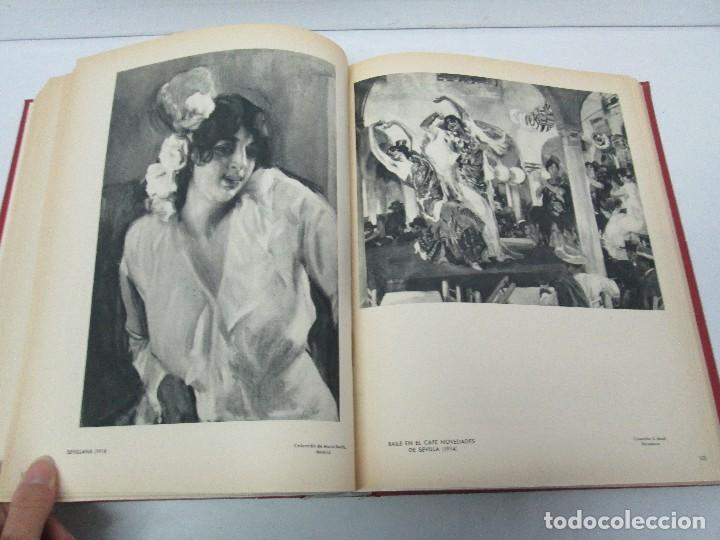 Libros de segunda mano: LA VIDA Y OBRA DE JOAQUIN SOROLLA. BERNARDINO DE PANTORBA. EDITORIAL MAYFE 1953. EJEMPLAR Nº 1828. - Foto 21 - 124099523