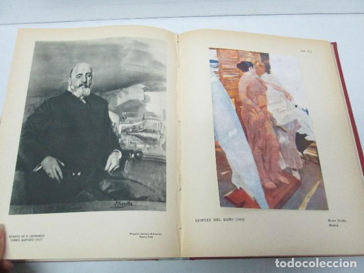 Libros de segunda mano: LA VIDA Y OBRA DE JOAQUIN SOROLLA. BERNARDINO DE PANTORBA. EDITORIAL MAYFE 1953. EJEMPLAR Nº 1828. - Foto 23 - 124099523