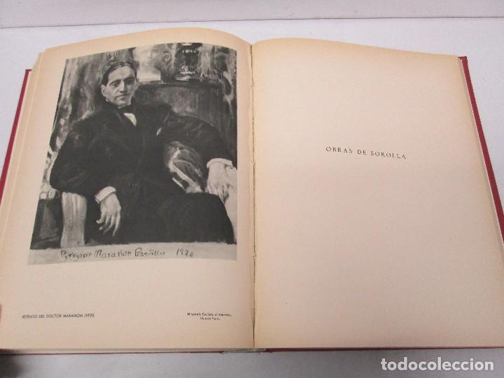 Libros de segunda mano: LA VIDA Y OBRA DE JOAQUIN SOROLLA. BERNARDINO DE PANTORBA. EDITORIAL MAYFE 1953. EJEMPLAR Nº 1828. - Foto 24 - 124099523