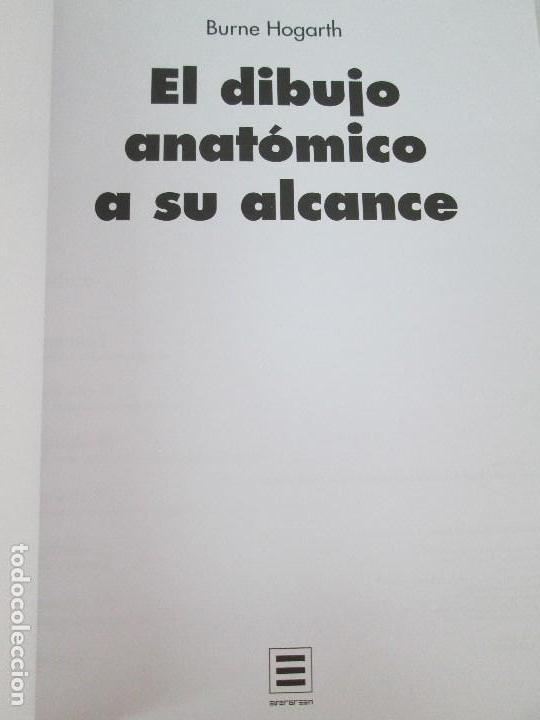 Libros de segunda mano: BURNE HOGARTH. EL DIBUJO DE LUCES Y SOMBRAS A SU ALCANCE. CABEZA HUMANA. ANATOMICO. 3 LIBROS - Foto 7 - 124191527